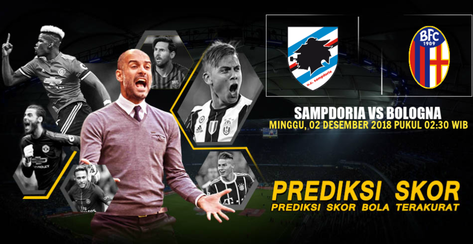 Prediksi Sampdoria vs Bologna 2 Desember 2018